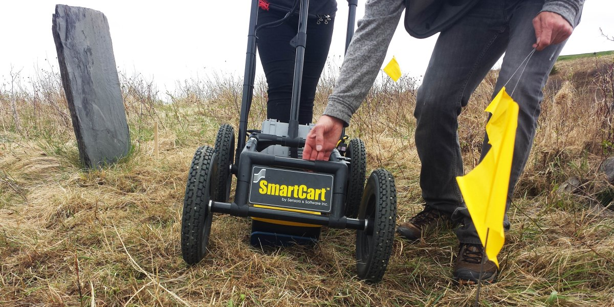 Ground Penetrating Radar in search of Graves - Newfoundland Edition