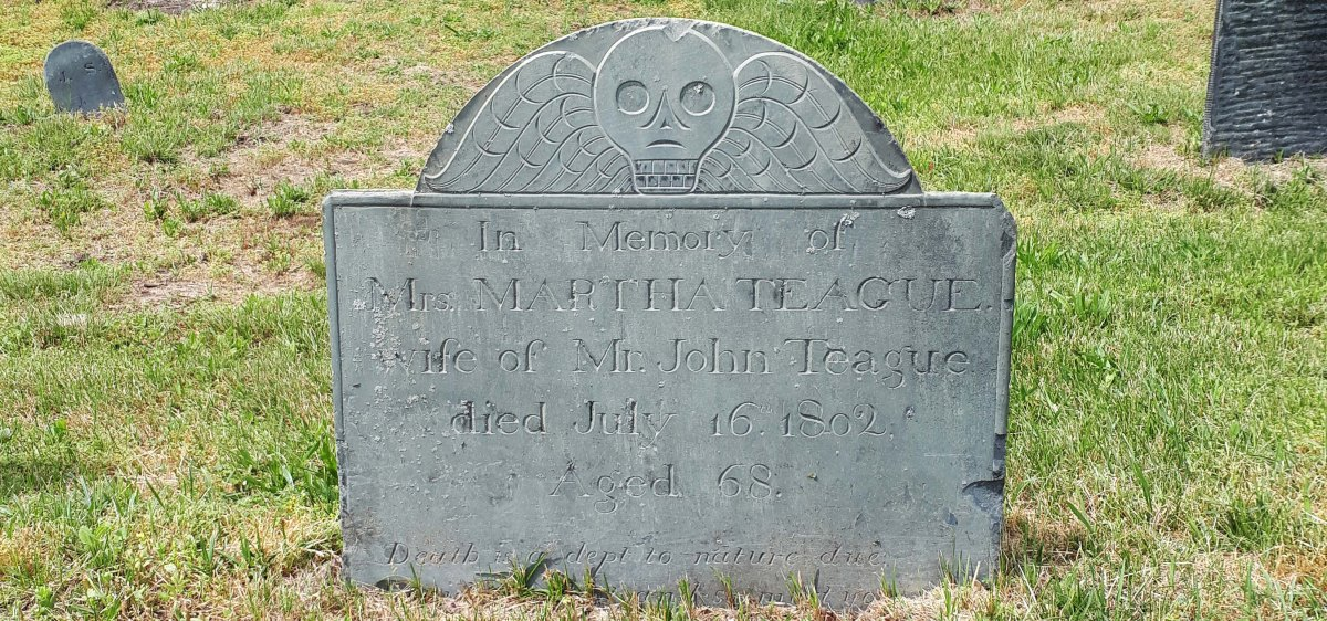 One Common Skull - A case study at Old Burying Point, Salem, MA.