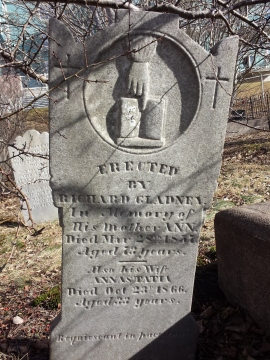 Gladney stone, 1837/66. R.A. Macki...