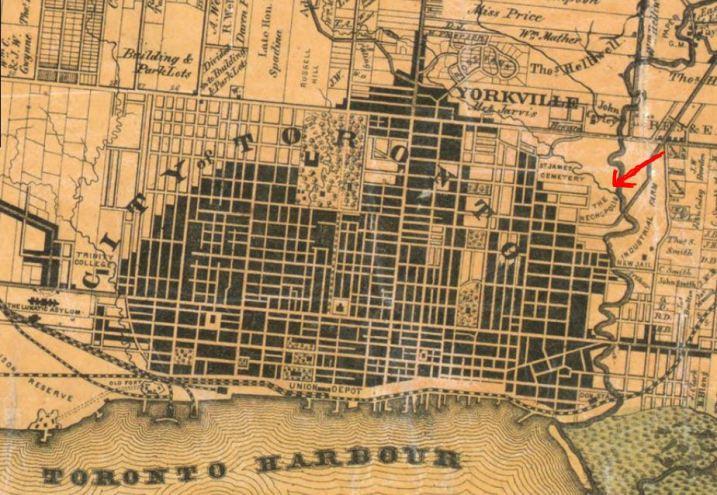 toronto map1860