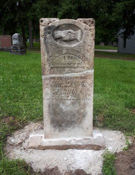 John Murphy's gravestone, 1866