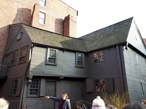 Back of the Paul Revere House