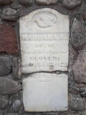Barbara L. Glover, 1872