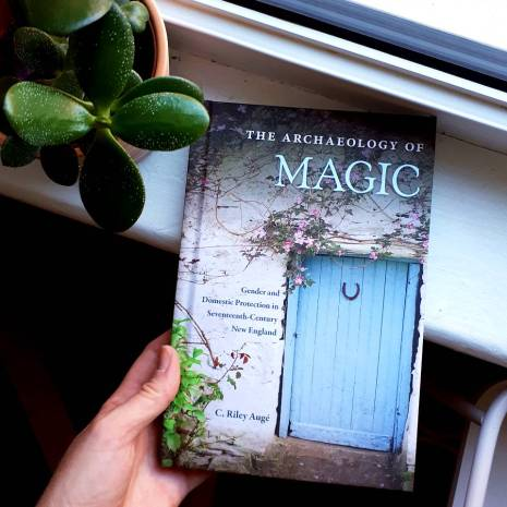 'The Archaeology of Magic' by C. Riley Auge, which I cannot wait to read!